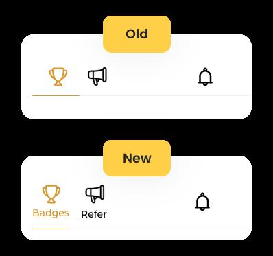 Widget tabs titles enhancement