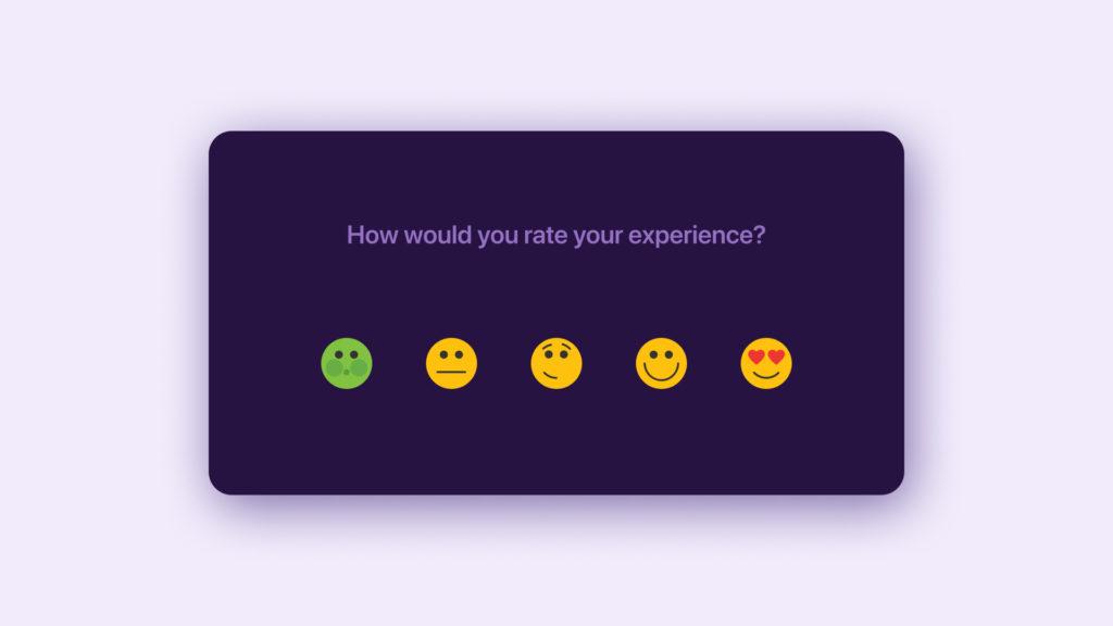 emojis in reviews