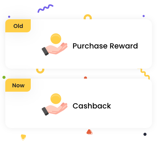 Rebranding Purchase Rewards program