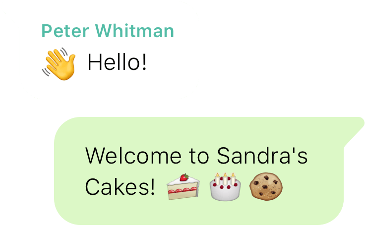 Whatsapp Business greeting messages