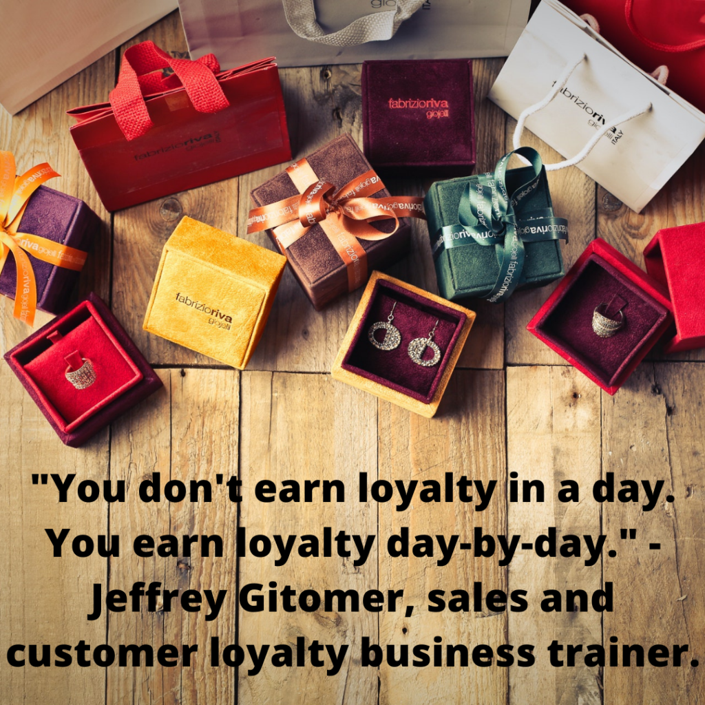 this is how customer loyalty is earned