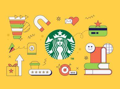 Starbucks loyalty program cover design