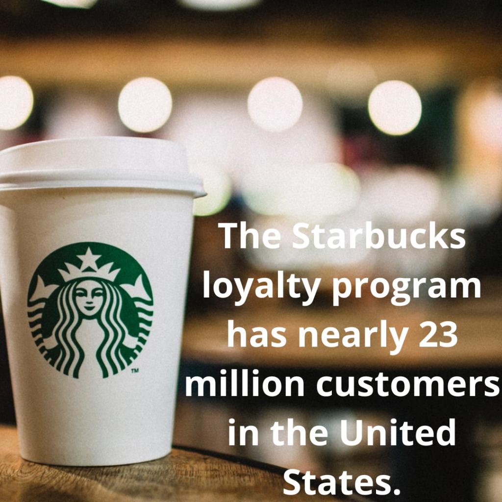 starbucks loyalty program statistics